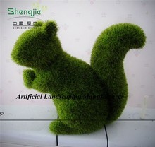 factory price Natural looking artificial Moss topiary