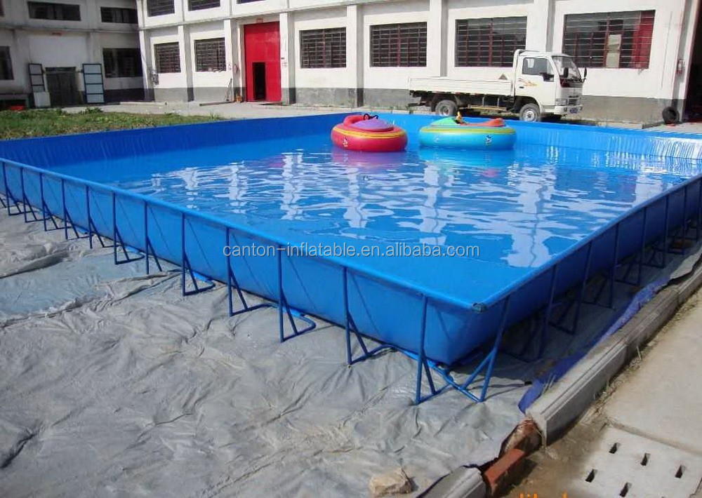 2015 funny rectangular above ground strong intex metal frame pool for summer season buy for Intex rectangular swimming pool
