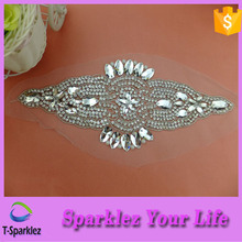 Fancy Crystal Rhinestone Applique Patches For Belt Accessory