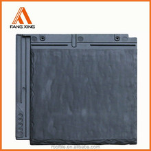 synthetic plastic slate roof tile