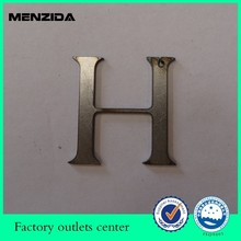 China OEM factory laser cutting sainless steel numbers and alphabet letters