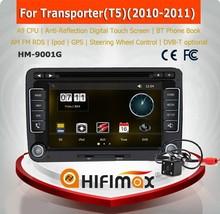 "HIFIMAX 7"" inch vw transporter t5 car dvd cd player special car dvd for vw transporter dvd player gps navigation"