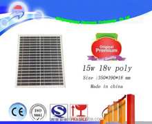 WGN 15w Pv Solar Panel Price Per Watt Solar Panel Wholesaler at Factory Price