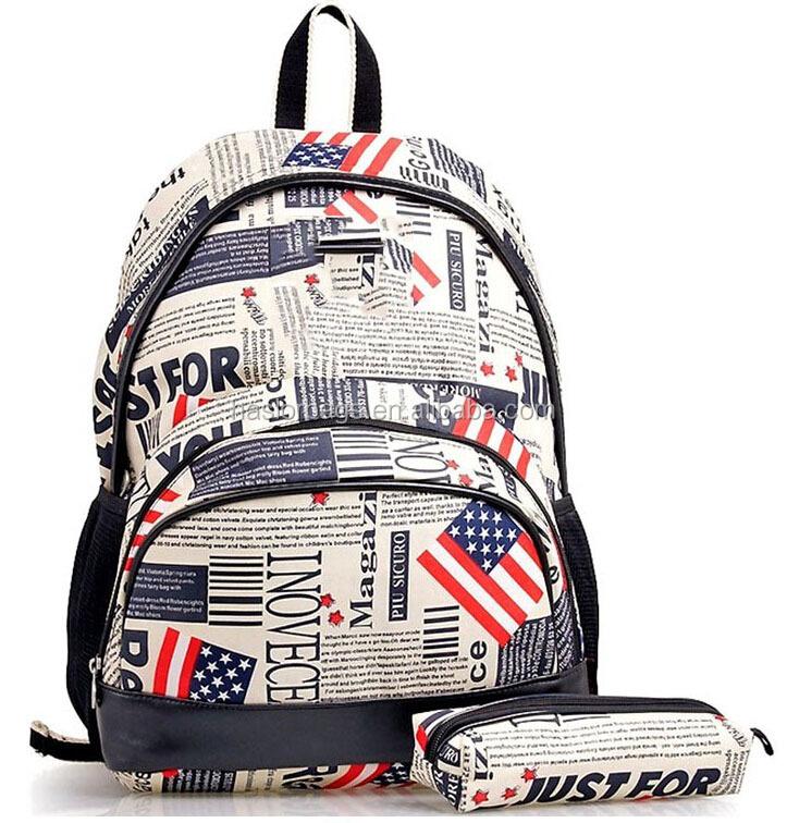 Mode American Girl sacs à dos avec sac de crayon