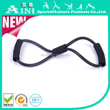 Training Resistance Bands Rope Tube Workout Exercise for Yoga 8 Type Fashion Body Fitness