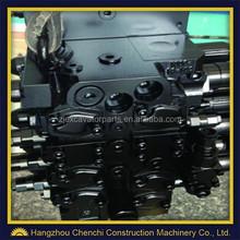 pc250-8 main control valve excavator hydraulic parts main valve, high quality excavator main valve