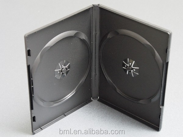 High Quality 14mm PP Double Disc DVD Case