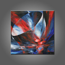 Wholesale As you see Quality Hand Painted Canvas Acrylic Oil Paintings By Artist