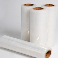 Hot sell high quality pe plastic stretch film Plastic Wrapping Clear LLDPE Stretch Film for Pallet