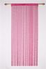 Plum color thread string curtain