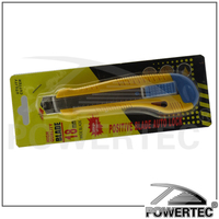 POWERTEC Heavy duty snap-off blade utility knife auto knife utility