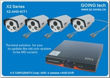GOING tech new products AHD KIT cctv camera 2500TVL