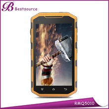 Best Rugged Mobile Phone india 5inch IP68 MTK6589A Quad core Android 4.2 Dual sim GSM WCDMA 1G+8g 3G unlock rugged mobile