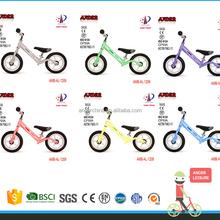 2015 new design wood balance kids bike/wood walking baby balance bicycle