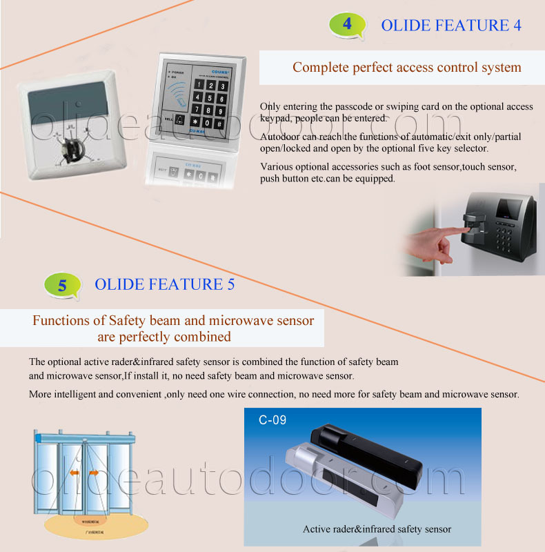 Bottom price new products innovative electric sliding door motor