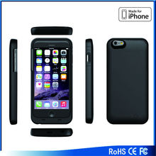 Maxnon power case for iphone 5 3200mah For Iphone 6 rohs mfi power bank case