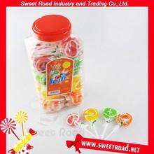 Flat Colorful Sweet Lollipop