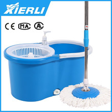 360 degree Spinning Dry Mop Magic Mop Rotation Spin Dry Pedal Free 2 Mop Head