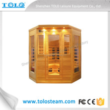 Commercial Infrared Sauna Shower Combination for Sauna Spa