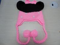 kids hand knitted earflap hat stylish crochet pattern