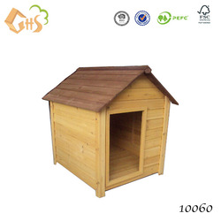 Outdoor wood modular dog kennel waterproof