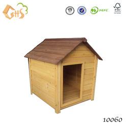 Outdoor wood modular dog kennel waterproof