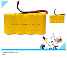 2015 rechargeable battery pack Ni-CD 4.8 Volt 2100 mAh NiCD NiMH rechargeable battery pack battery packs 4.8v Ni-CD