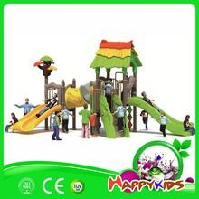 Preescolar guardería de juego, plástico juegos infantiles exterior