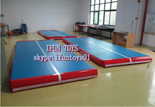 PVC inflatable air track for training / inflatable train air tracks / portable inflatable air track