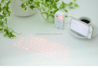 Portable Mini wireless bluetooth laser keyboard with high quality for Tablet Cellphone Trade assurance