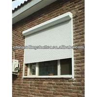 automatic rolling shutter window/electric door shutters/residential window louvers