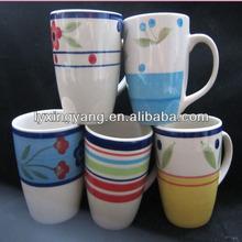 New funny handmade ceramic halloween Tiki Cup