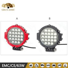 Updated 63w led offroad driving light KR7631 exterior accessories 12v led driving light for car led car lamp