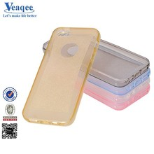 Veaqee mobile accessories fashion S line tpu case cover for iphone 5s