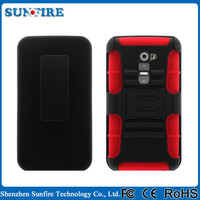 shockproof heavy duty case cover for lg g2, belt clip case for lg g2, case for lg g2