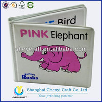 custom high quality plastic books for kids