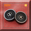 Fashion designer fancy and beautiful four holes clothing buttons led