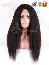 unprocessed wholesale kinky straight hair yaki malaysian virgin human hair italian yaki full lace wig