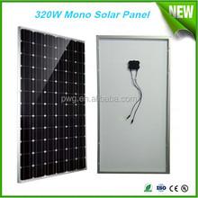 320W mono price per watt solar panel A grade solar cells