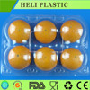 disposable plastic fruit packaging box/container
