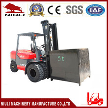 5 ton diesel forklift with Japanese Mitsubishi S6S engine