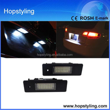 Canbus LED License lamp, for BMW E81,E87,E90,E60,E63