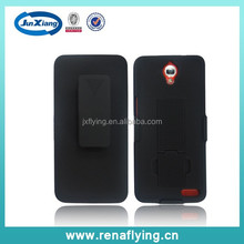 factory price mobile phone accessory with i pattern holster pc case for Alcatel 6040