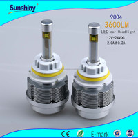 New design product ent headlight bulbs 9005 30w 3600lm white led headlight plastic cover