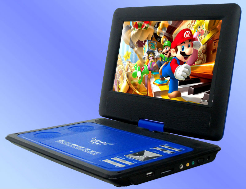 Portable dvd player with wifi