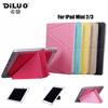 For iPad Mini 2/3 Folio Smart PU Leather Case Ultra Thin With Back Cover Case