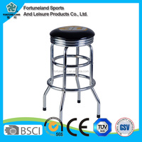 cheap used bar stools with plastic cushions