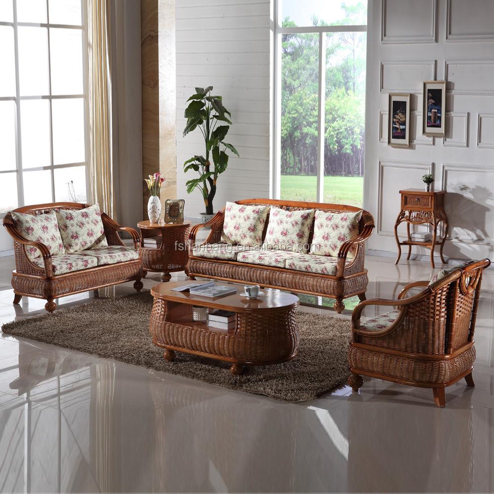 Wholesale foshan manufacturer new modern fashion trendy for New wooden sofa set designs