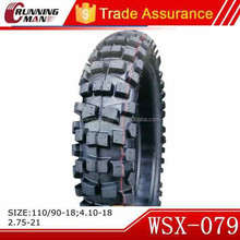 China Motorcycle Off Road Tyre 110/90-18