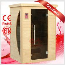 Far Infrared Ray Sauna Cabin with CE ROHS ETL GW-2H8